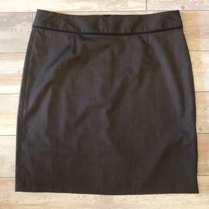 Banana Republic Size 12 Brown Dress Skirt